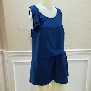 Edme & Esyllte blue blouse